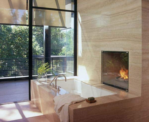 Bathroom Fireplace Ideas-47-1 Kindesign