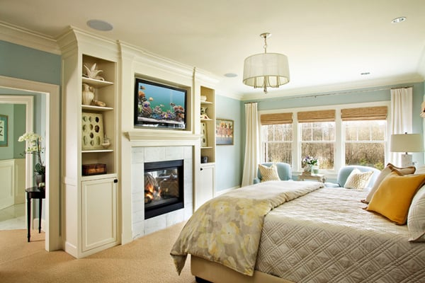 Bedroom Fireplace Ideas-04-1 Kindesign