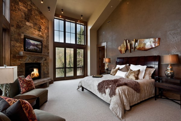 Bedroom Fireplace Ideas-06-1 Kindesign