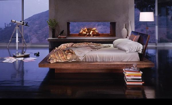 Bedroom Fireplace Ideas-20-1 Kindesign