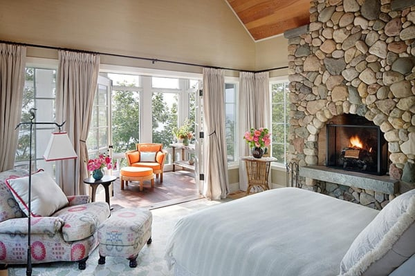 Bedroom Fireplace Ideas-34-1 Kindesign