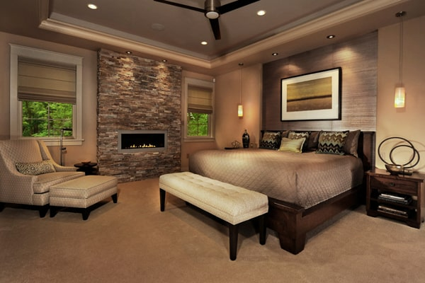 Bedroom Fireplace Ideas-37-1 Kindesign
