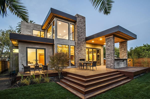 featured posts image for Modern dwelling blends sophistication and rustic simplicity