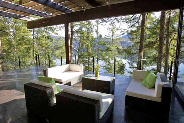 Gambier Island House-Turkel Design-02-1 Kindesign