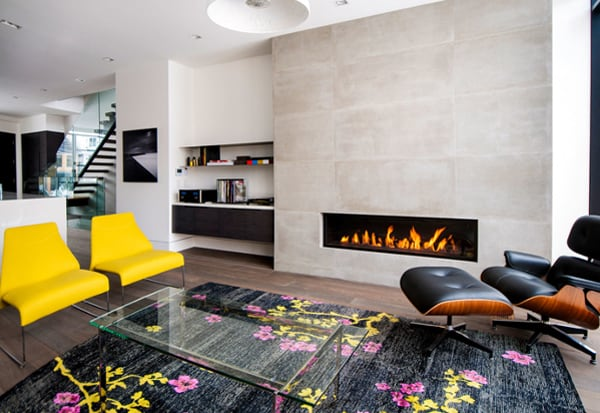 Modern Fireplace Design Ideas-03-1 Kindesign