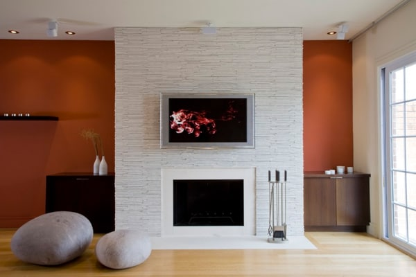 Modern Fireplace Design Ideas-05-1 Kindesign