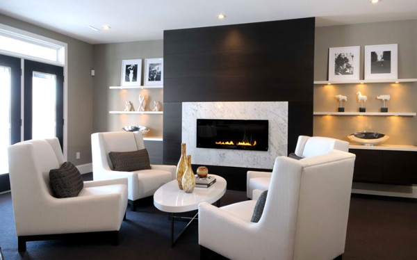 Charming Modern Fireplace Design Ideas 07 1 Kindesign