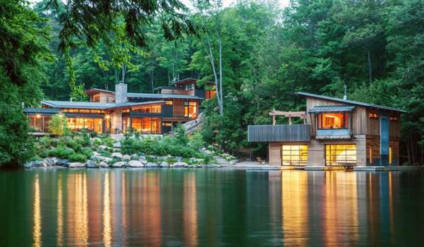 Muskoka Cottage-Christopher Simmonds Architect-01-1 Kindesign