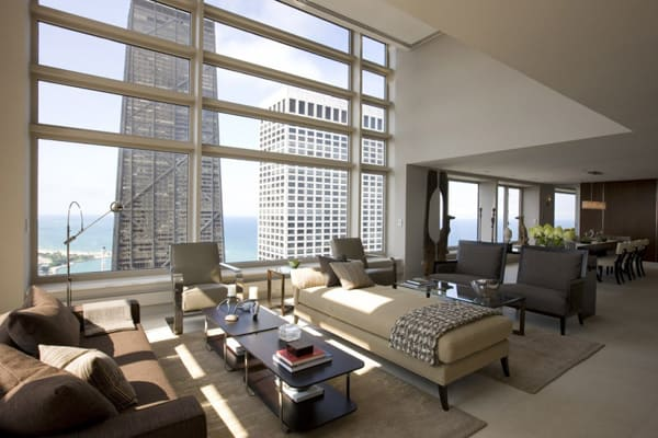 featured posts image for Contemporary Olympia Center Penthouse in Chicago