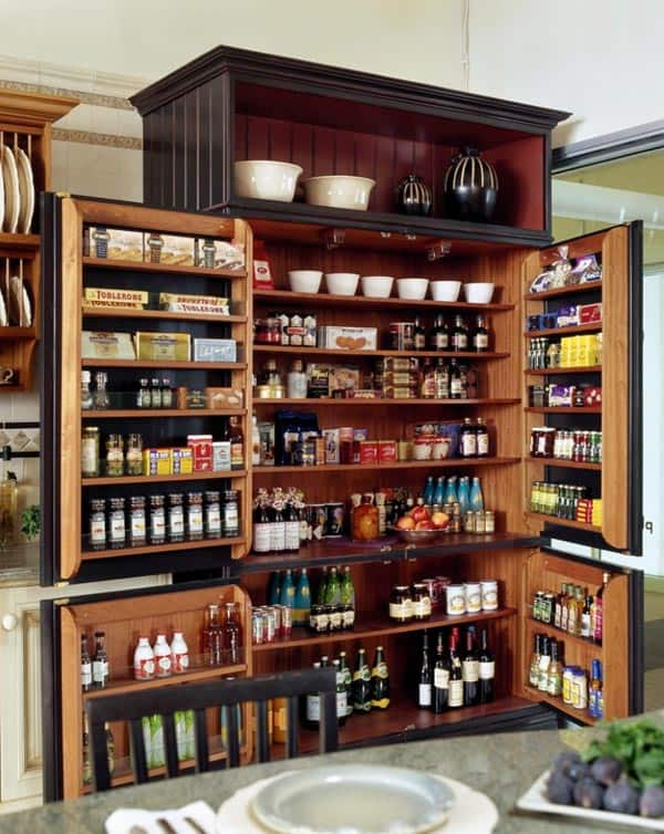 featured posts image for 53 Mind-blowing kitchen pantry design ideas