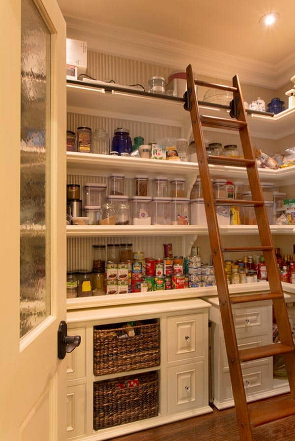 53 mind blowing kitchen pantry design ideas. Black Bedroom Furniture Sets. Home Design Ideas