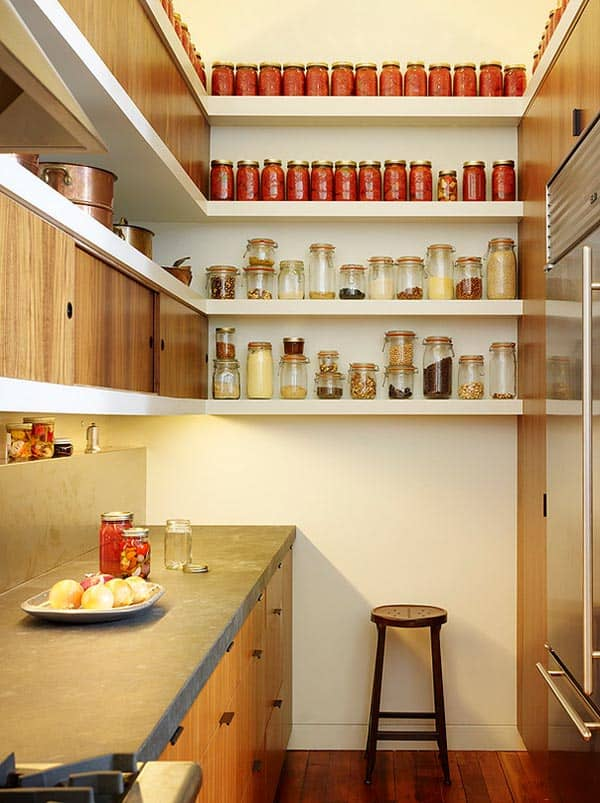 Kitchen Designs With Walk In Pantry Awesome Inspiration Design