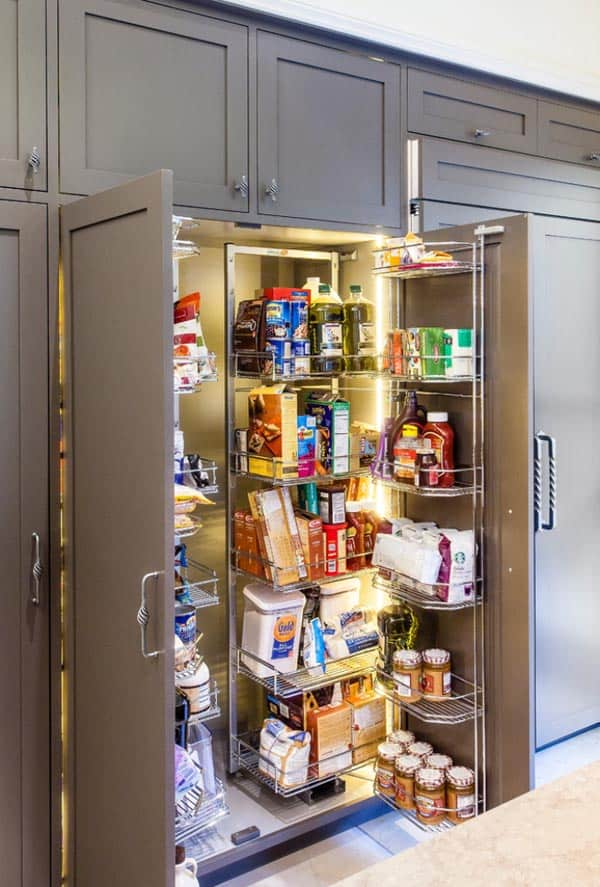 pantry design ideas 41 1 kindesign - Kitchen Pantries