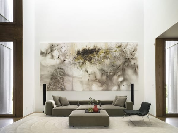 featured posts image for Striking modern pad for art collectors in New York