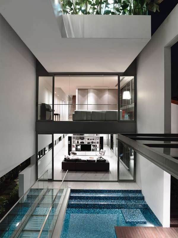 featured posts image for Jalan Angin Laut house in Singapore with pool sanctuary