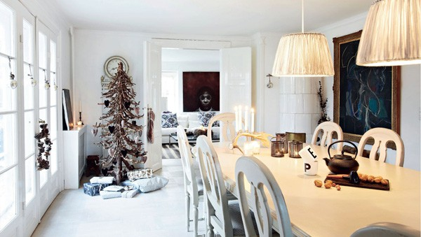 featured posts image for Dazzling Christmas decorated home in Nordsjælland