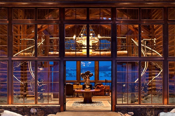 featured posts image for Luxury vacation lodge in Wyoming: Phillips Ridge