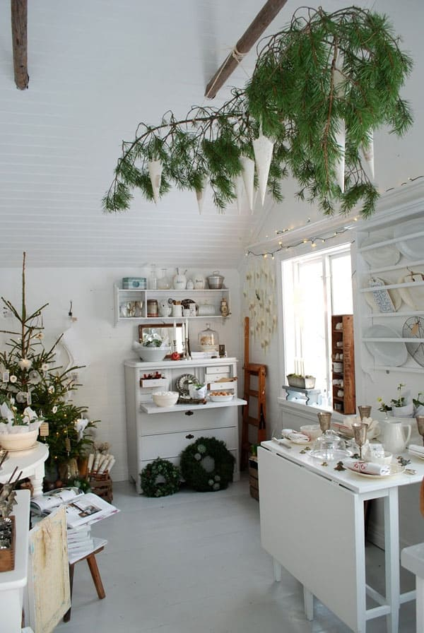 Scandinavian Christmas Decorating Ideas-69-1 Kindesign