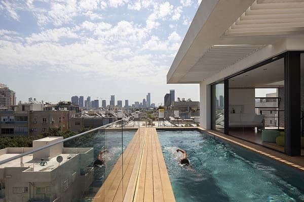 featured posts image for Multi-level townhouse with fabulous roof deck in Tel Aviv