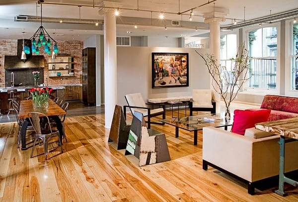 featured posts image for Industrial building transformed to beautiful loft in TriBeca