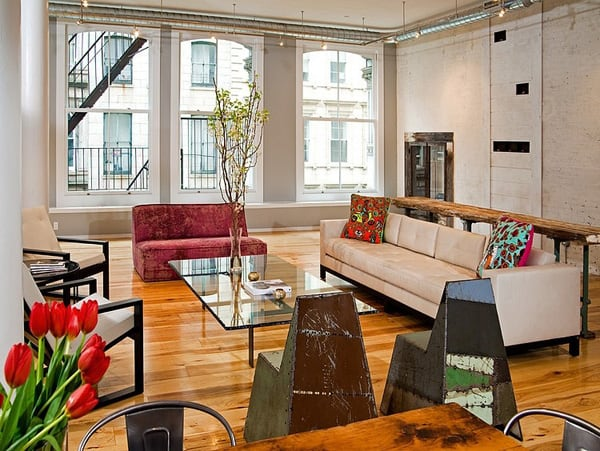 TriBeca Loft-Threshold Interiors-02-1 Kindesign