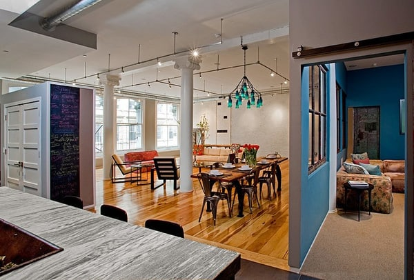 TriBeca Loft-Threshold Interiors-04-1 Kindesign