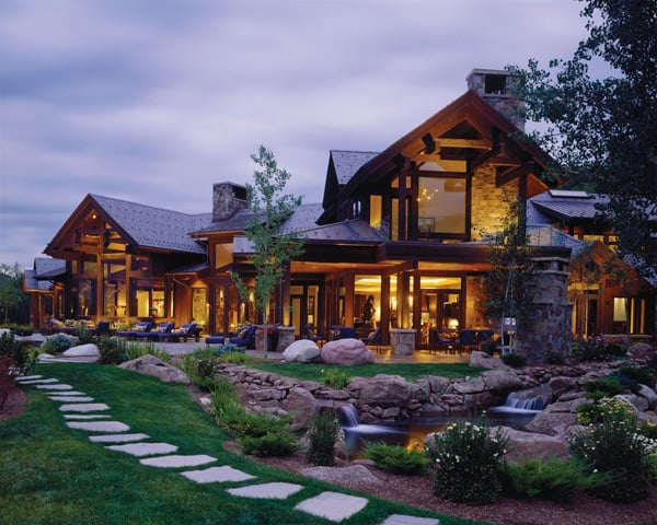 featured posts image for Bavarian-style luxury mountain retreat in Aspen