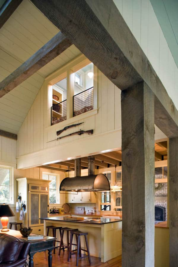 Barn Inspired Retreat-Historical Concepts-05-1 Kindesign
