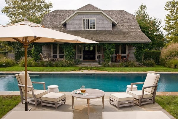 featured posts image for Gorgeous Bridgehampton Estate showcasing warm interiors