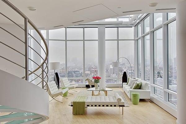 Chelsea Duplex Penthouse-Marie Burgos Design-02-1 Kindesign