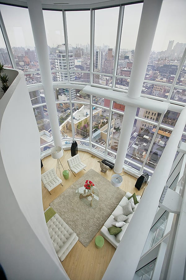 Chelsea Duplex Penthouse-Marie Burgos Design-03-1 Kindesign