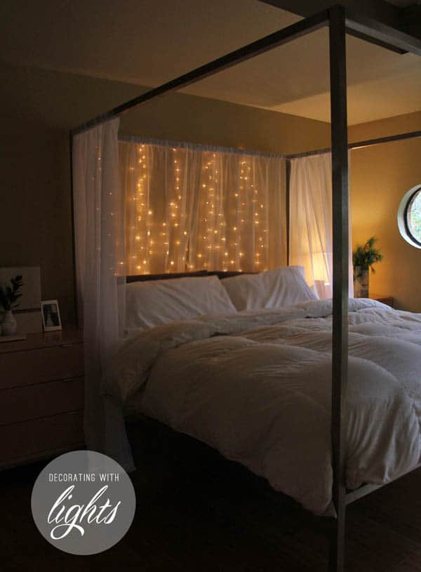 Christmas Lights In Bedroom 54 1 Kindesign
