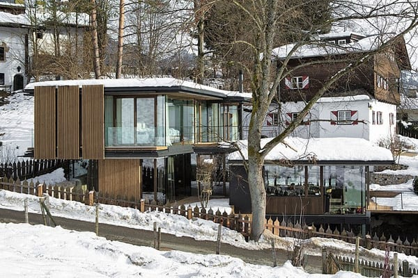 featured posts image for Modern mountain retreat nestled in resort village of Kitzbühel