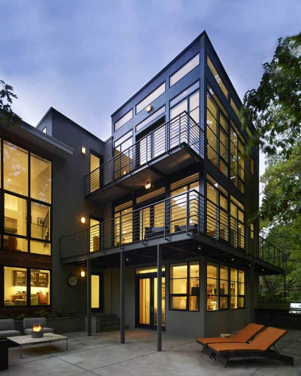 Lakefront Residence-Moore Architects-03-1 Kindesign