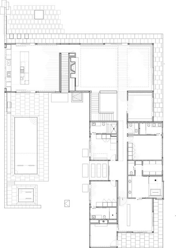Linear House-Studio B Architects-24-1 Kindesign