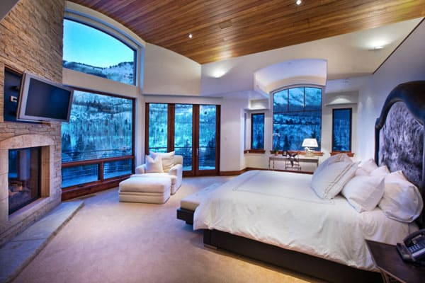 Living Spaces with Snowy Views-07-1 Kindesign