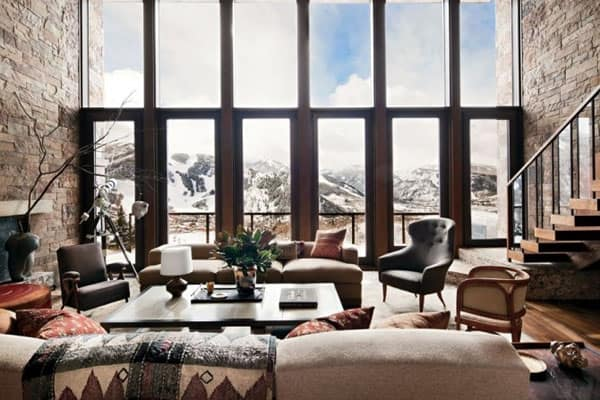 Living Spaces with Snowy Views-09-1 Kindesign