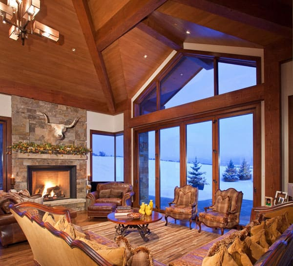 Living Spaces with Snowy Views-22-1 Kindesign