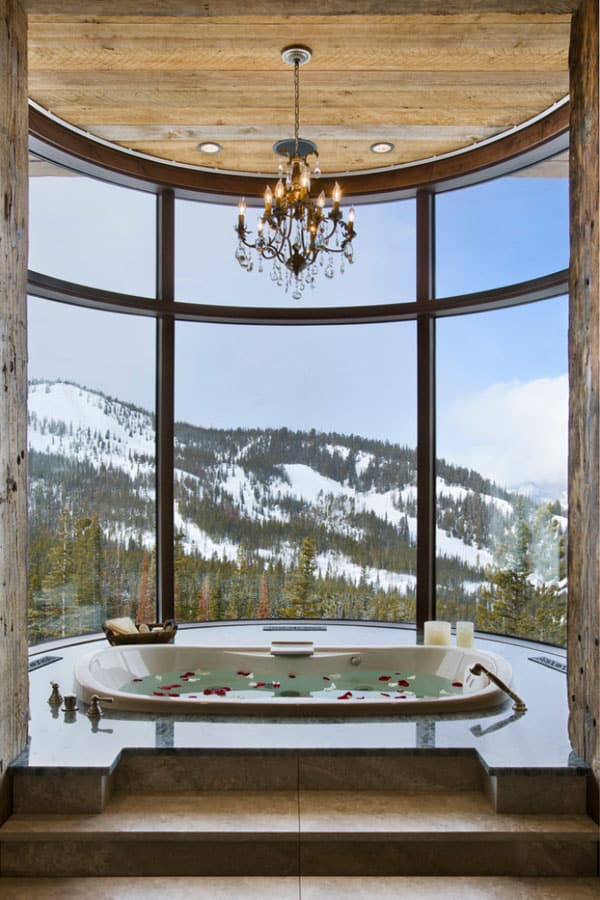 Living Spaces with Snowy Views-24-1 Kindesign