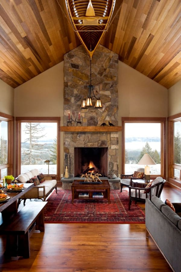 Living Spaces with Snowy Views-26-1 Kindesign