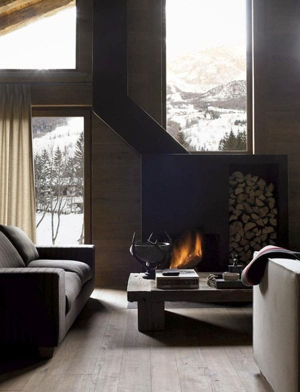 Living Spaces with Snowy Views-30-1 Kindesign