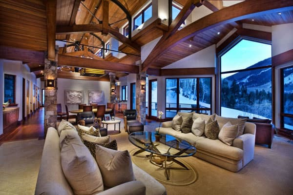 Living Spaces with Snowy Views-33-1 Kindesign