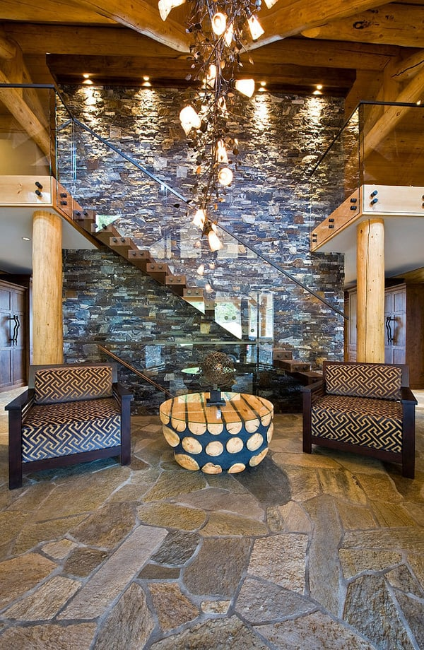 Okanagan Log Home-Sticks and Stones Design Group-02-1 Kindesign