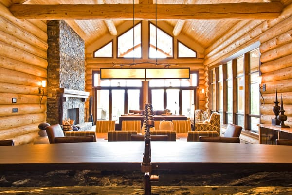 Okanagan Log Home-Sticks and Stones Design Group-06-1 Kindesign