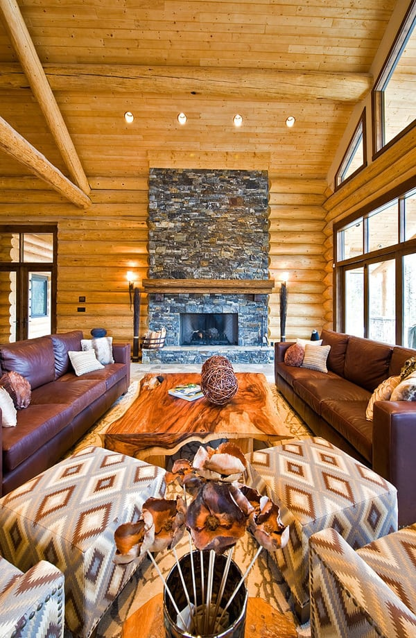 Okanagan Log Home-Sticks and Stones Design Group-07-1 Kindesign