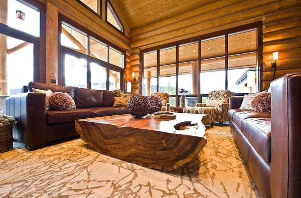 Okanagan Log Home-Sticks and Stones Design Group-09-1 Kindesign