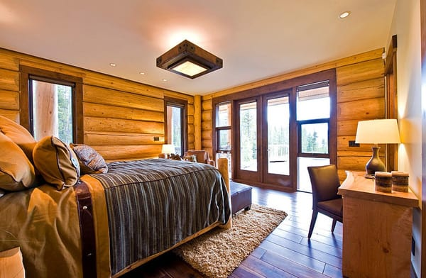 Okanagan Log Home-Sticks and Stones Design Group-13-1 Kindesign