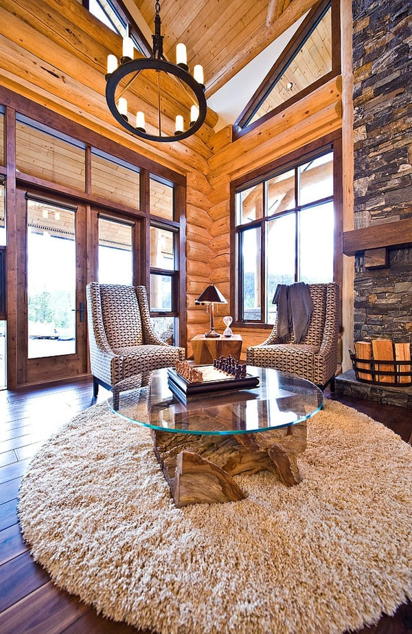 Okanagan Log Home-Sticks and Stones Design Group-15-1 Kindesign