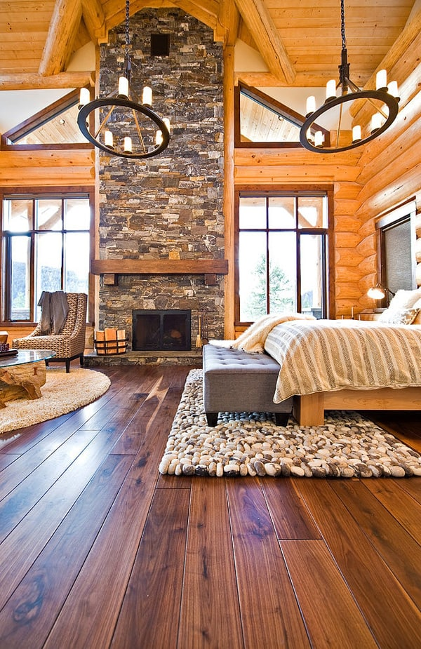 Okanagan Log Home-Sticks and Stones Design Group-16-1 Kindesign