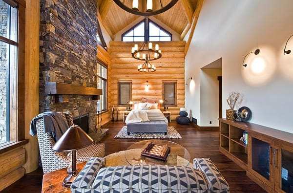 Okanagan Log Home-Sticks and Stones Design Group-17-1 Kindesign